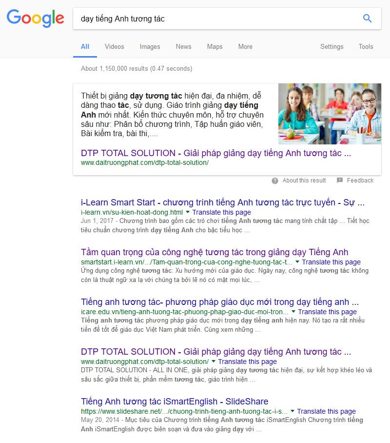 tối ưu hóa động cơ tìm kiếm Google